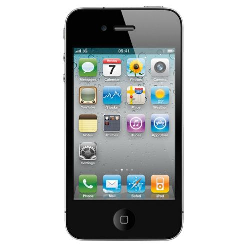 Tesco Mobile iPhone 4 32GB Black Pay as you go