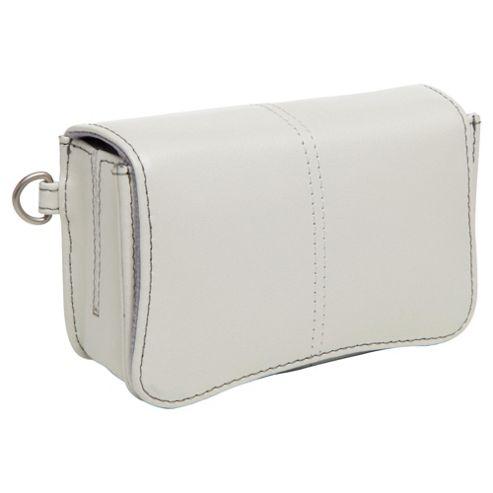 Technika leather Camera Case, White