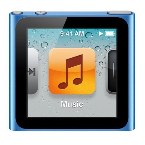 Apple MC525QB/A iPod Nano 8GB 6th Generation - Blue