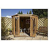 Mercia Corner Wooden Summerhouse with installation, 8x8ft