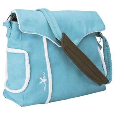 Wallaboo Changing Bag, Soft Blue
