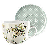 Katie Alice Cottage Flowers Cup & Saucer Set