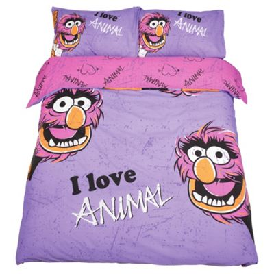 Disney Purple Animal Duvet Cover Set Double
