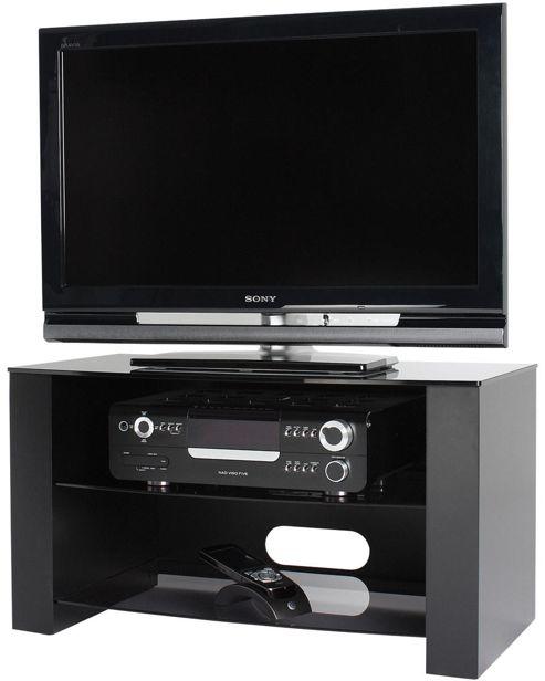 Alphason 37 Alpha TV Stand Ancora Series - ANC800/3-GR Black