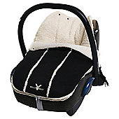 Wallaboo Newborn Footmuff, Black