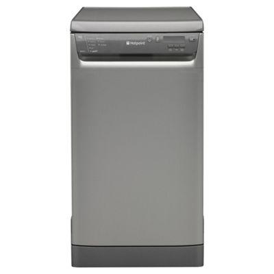 Hotpoint SDD910G Slimline Dishwasher, A Energy Rating, Graphite