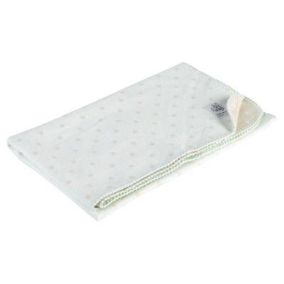 Clair de lune Cotton Spot Blanket, Mint