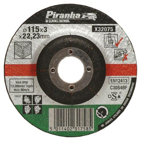 BLACK+DECKER 3 Piece 115x22mm Stone Cutting Discs X32075CTS