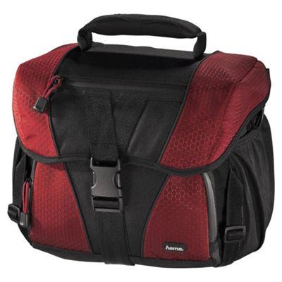 Hama Rexton 80681 130 Camera Bag - Black and Red