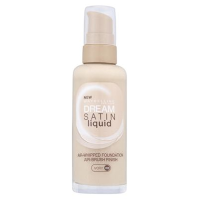 Maybelline Dream Satin Liquid Foundation 010 Ivory