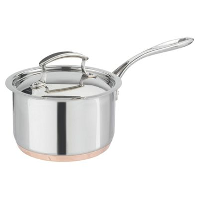 Professional Cook 18cm Copper Base Saucepan with Lid