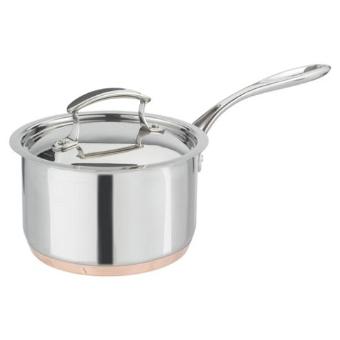 Professional Go Cook 18cm Copper Base Saucepan with Lid