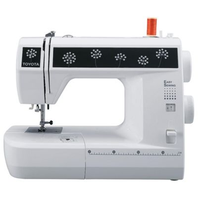Toyota SESM21 Electronic Sewing Machine - White