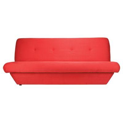 Miyagi Fabric Clic Clac Sofa Bed, Scarlet