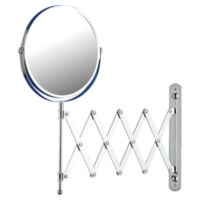 extending bathroom mirror buy tesco extendable bathroom mirror from our mirrors 12808