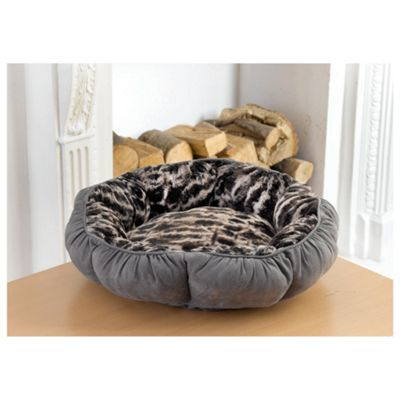 Faux Fur Pet Bed - Small