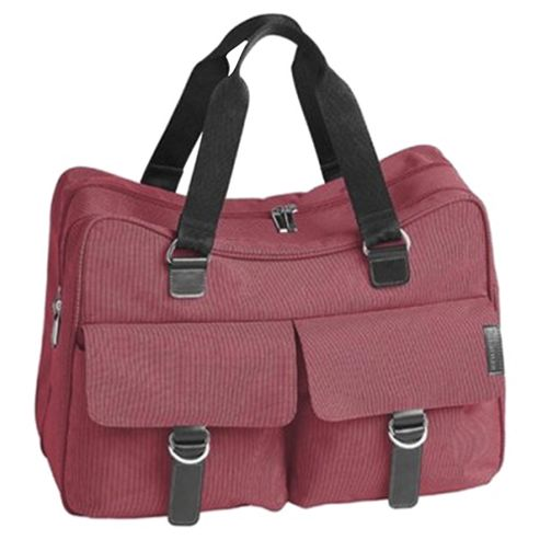 Little Lifestyles City Maternity Weekend Case Changing Bag, Raspberry