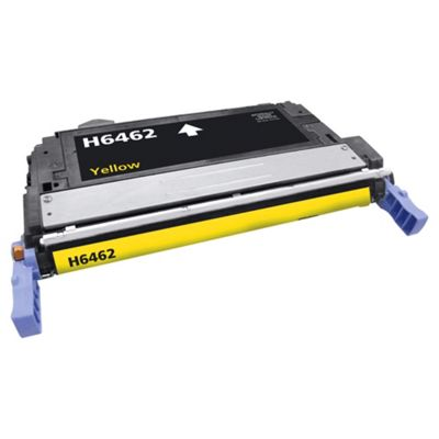Tesco THPQ6462A Yellow Laser Toner Cartridge (for HP Q6462A/ HP 644A Yellow)