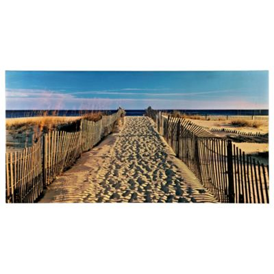 Gateway To The Beach Canvas 50X100Cm