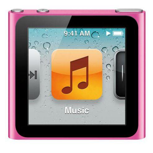 Apple MC525QB/A iPod Nano 8GB 6th Generation - Pink