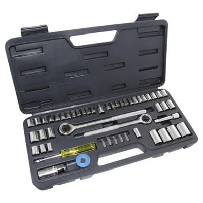 Am-tech 52pc Budget Socket Set