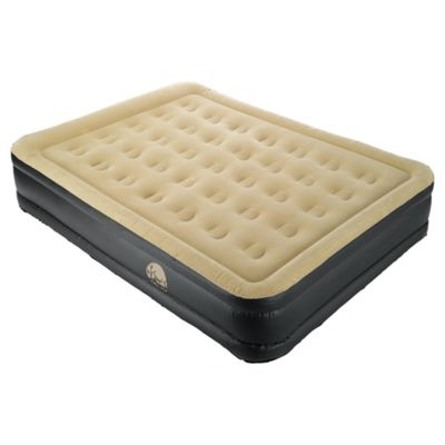 Jilong Double Layer Luxury Double Air Bed with Electric Pump