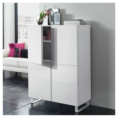Urban 4 Door Storage White