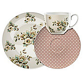Katie Alice Cottage Flowers Afternoon Tea Set