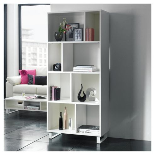 Urban 4 Shelf Bookcase White