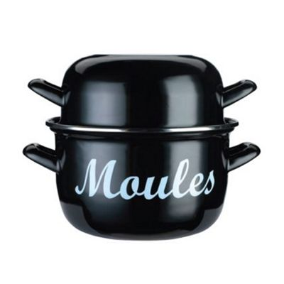 World of Flavours Large Mussels Pot, 24cm