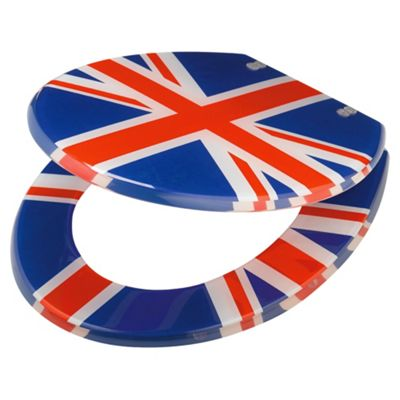 Tesco Union Jack Toilet Seat