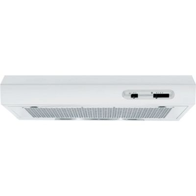 Indesit Canopy Hood, H 161.2 WH UK, 60cm - White