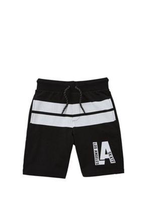 F&F Los Angeles Skate Shorts Black 5-6 years