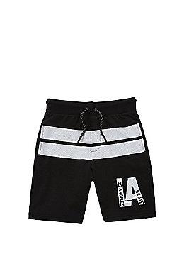 F&F Los Angeles Skate Shorts - Black