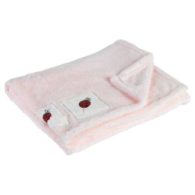 Kids Line Supersoft Design Blanket, Ladybird