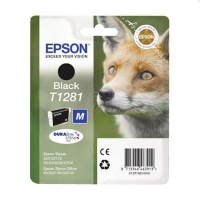 Epson Fox T1281 Black DURA Ink