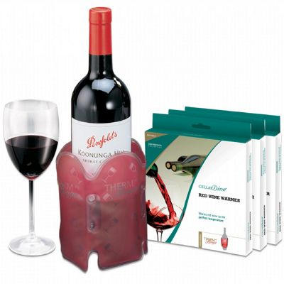 CELLARDine Red Wine Warmer Sleeve