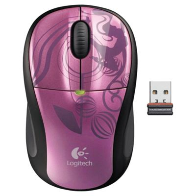 Logitech M305 Nano 2.4 GHz Wireless Mouse -  Pink Balance