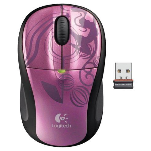 Logitech M305 Nano 2.4 GHz Wireless Mouse -  Pink Balance