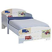 Vroom Vroom Toddler Bed Frame