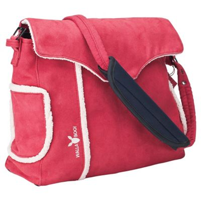 Wallaboo Changing Bag, Red