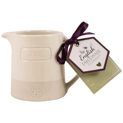 English Tableware Co. Artisan Creamer, Cream