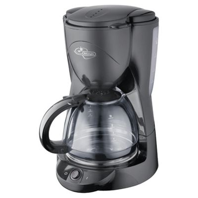 DeLonghi ICM2B 10 Cup Coffee Machine - Black