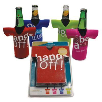 Beer Bottle Chillers - Hands Off