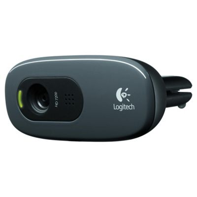 Logitech C270 3MP HD Webcam with Microphone