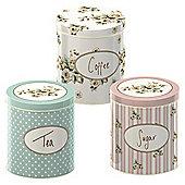 Creative Tops Katie Alice Cottage Flower Storage Tins (Set of 3)