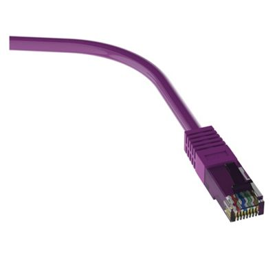 QED CAT5e Ethernet Network Cross Over Cable 1.5M