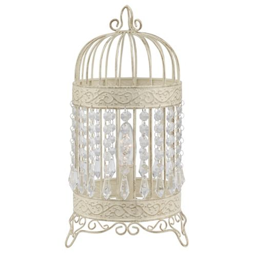 Tesco Lighting Birdcage Table Lamp