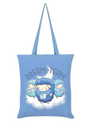 Dream Team Tote Bag 38 x 42cm, Sky Blue