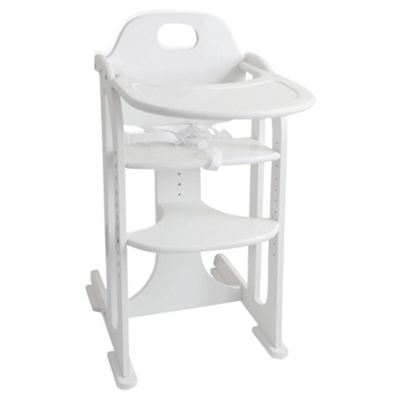 East Coast Multi Height Highchair, White